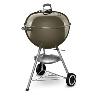 Weber 57cm Original Kettle Smoke for Charcoal Barbecuing