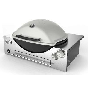 WEBER FAMILY Q3600 TITANIUM LP BUILT IN