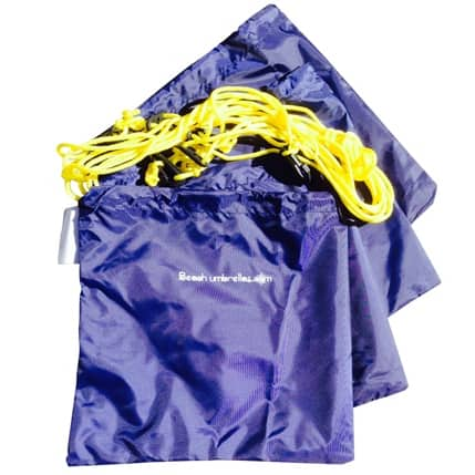 BEACH TETHER KIT 4PC SAND BAGS