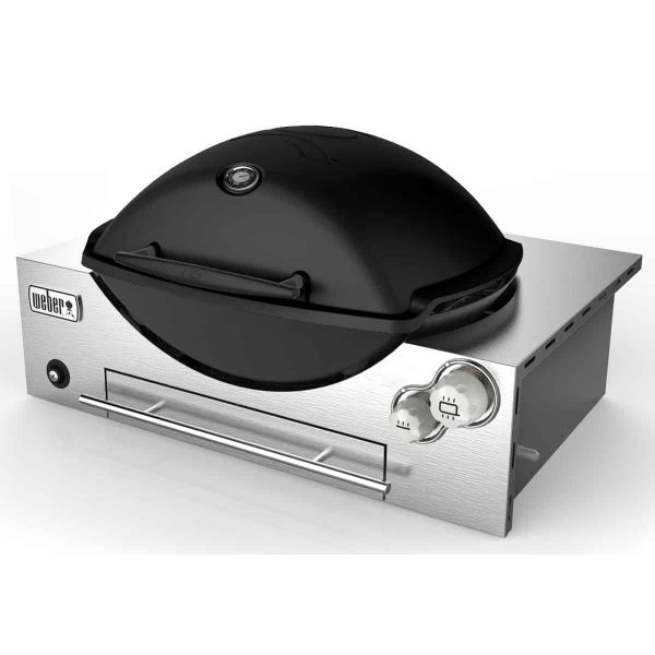 WEBER Q3600 NG BLACK BUILT IN