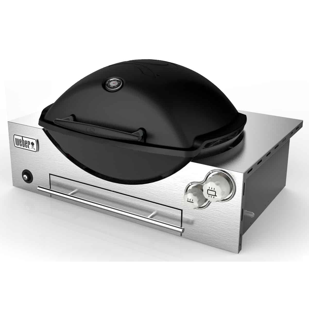 Weber Family Q3600 Black LP Built In – Instore Only