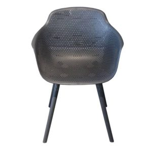 Outdoor Chair Furniture for sale in Perth Lilac Jasmine Chair Gunmetal