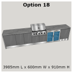 Outdoor Kitchen Range from Perth's Leading BBQ experts