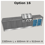 Outdoor Kitchen Outdoor Kitchen Range designed exclusively for the Weber Summit and Weber Q In-built BBQ's