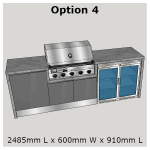 Outdoor Kitchen Range outdoor settings perth