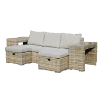 Polo 5 piece sofa set